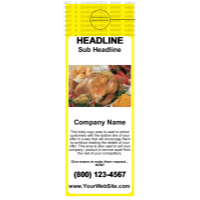 Food Door Hanger Yellow