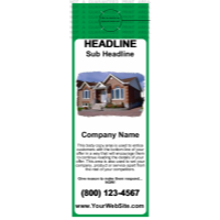 Mortgage Door Hanger Green