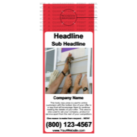 Home Improvement Door Hanger Design