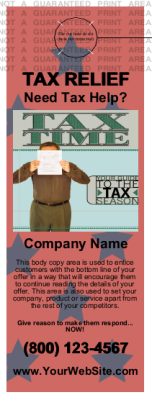 Tax Door Hanger Star