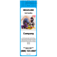 Health/Fitness Door Hanger Light Blue