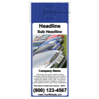 Auto Door Hanger Blue