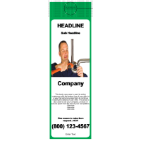 Plumbing Door Hanger Green