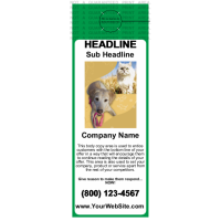 Pets Door Hanger Green