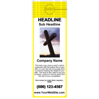 Church Door Hanger Yellow