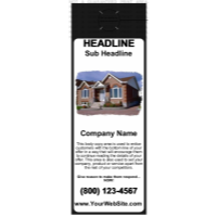 Mortgage Door Hanger Black