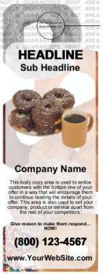 Food Door Hanger Donuts