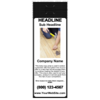 Home Improvement Door Hanger Black