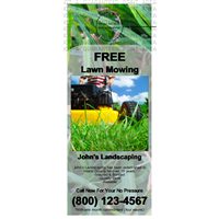 Mini Lawn Care Grass Door Hanger