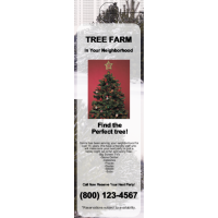 Christmas Tree Door Hanger Jumbo