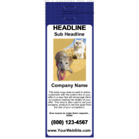 Pets Door Hanger Blue
