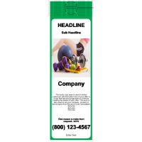 Health and Fitness Door Hanger Green