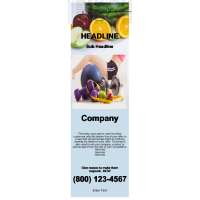 Health & Fitness Door Hanger Custom