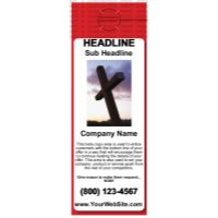 Church Door Hanger Red