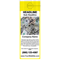 Business Door Hangers Yellow