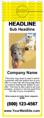Pets Door Hanger Yellow