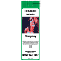 Beauty Jumbo Door Hanger Green