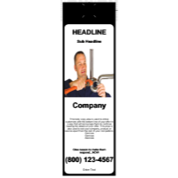 Plumbing Door Hanger Black