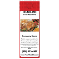 Food Door Hanger Red