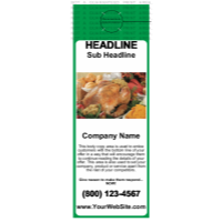 Food Door Hanger Green