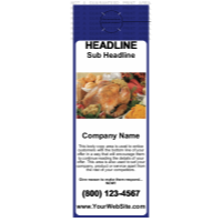 Food Door Hanger Blue