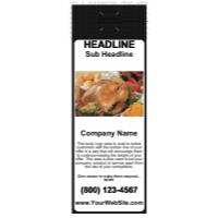 Food Door Hanger Black