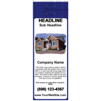 Mortgage Door Hanger Blue