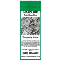 Business Door Hanger Green
