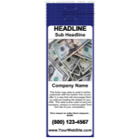 Business Door Hanger Blue