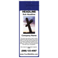 Church Door Hanger Blue